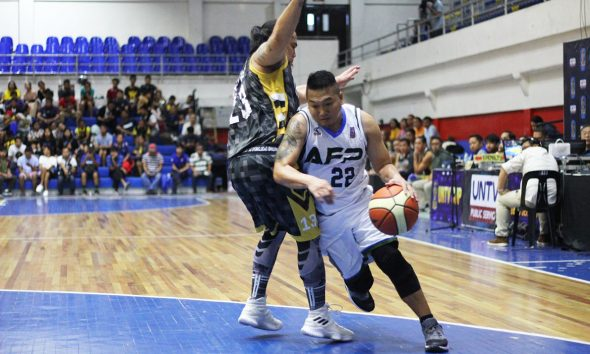 Tiebreaker Times AFP, DENR ready to settle score in UNTV Cup Finals Basketball News UNTV Cup  Eugene Tan DENR Warriors Boyet Bautista AFP Cavaliers 2019 UNTV Cup