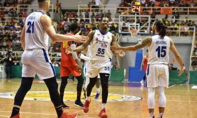 Tiebreaker Times Alab Pilipinas survive Saigon fightback for tie of second in ABL ABL Alab Pilipinas Basketball News  Tyshawn Taylor Sam Thompson Sam Deguara Saigon Heat Nick King Jimmy Alapag Jeremiah Gray Jason Brickman 2019-20 ABL Season