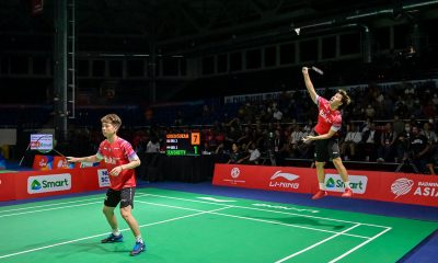 Tiebreaker Times 'Minions' lift Indonesia to Asian Badminton Team finals showdown vs Malaysia 2020 Badminton Asia Team Championships Badminton News  Yugo Kobayashi Takuro Hoki Subhankar Dey Soh Wooi Yik Shesar Rhustavito Mohammad Ahsan Marcus Gideon Malaysia (Badminton) M. R. Arjun Lee Zii Jia Lakhshya Sen Kevin Sakamuljo Kenta Nishimoto Kanta Tsuneyama June Wei Cheam Jonatan Christie Japan (Badminton) Indonesia (Badminton) India (Badminton) Hendra Satiawan Dhruv Kapila Chirag Shetty B. Sai Praneeth Anthony Ginting Aaron Chia 2020 Badminton Asia Team Championships