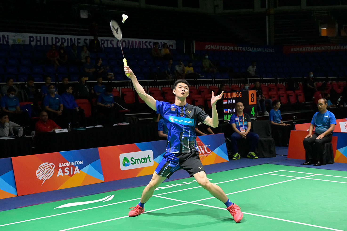 Badminton-Asia-Team-Championships-Mens-Malaysia-def-Kazahkstan-Lee-Zii-Jia Indonesia drops Philippine women's out of Badminton Asia Team Championships 2020 Badminton Asia Team Championships Badminton News  - philippine sports news