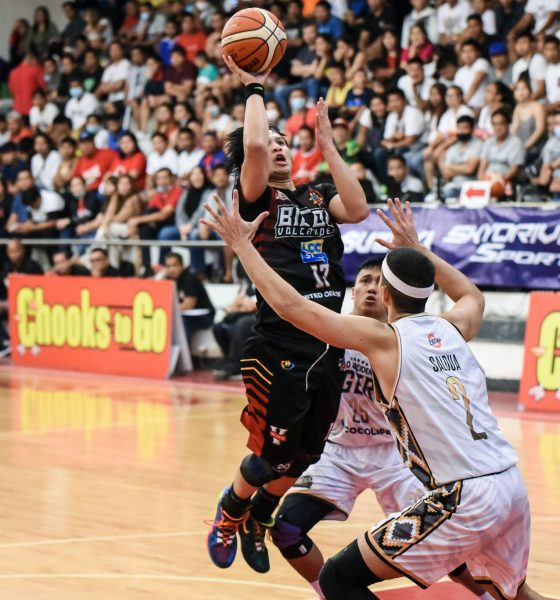 Tiebreaker Times Bicol Volcanoes stun Davao Occi, force do-or-die MPBL South QF tilt Basketball MPBL News  Ronjay Buenafe Mon Kallos Hafer Mondragon Emman Calo Don Dulay Davao Occidental Tigers Chester Saldua Billy Ray Robles Bicol Volcanoes Alwyn Alday 2019-20 MPBL Lakan Cup