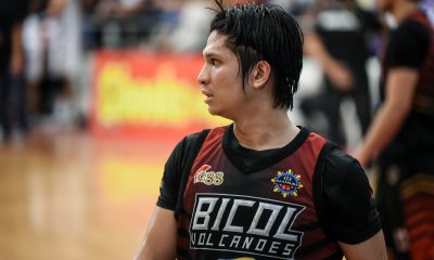 Tiebreaker Times Recreational league player Alwin Alday proves he is big time for Bicol Basketball MPBL News  Mon Kallos Bicol Volcanoes Alwin Alday 2019-20 MPBL Lakan Cup
