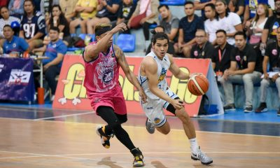 Tiebreaker Times Joseph Sedurifa calms Makati-Super Crunch after losing homecourt Basketball MPBL News  Rhuel Acot Makati Super Crunch Joseph Sedurifa 2019-20 MPBL Lakan Cup