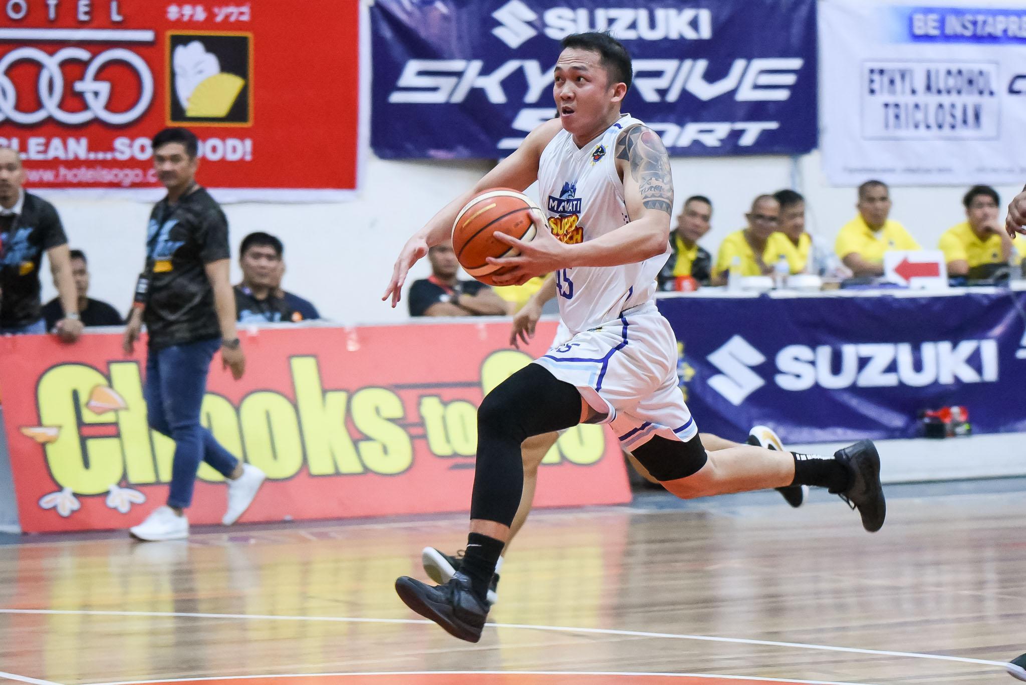 Tiebreaker Times Makati-Super Crunch end up being closer after crisis, says Baloria Basketball MPBL News  Rhuel Acot Makati Super Crunch Juneric Baloria 2019-20 MPBL Lakan Cup