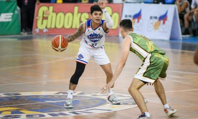 Tiebreaker Times Chris Bitoon snaps out of funk just in time for Manila Stars Basketball MPBL News  Tino Pinat Manila Stars Chris Bitoon 2019-20 MPBL Lakan Cup