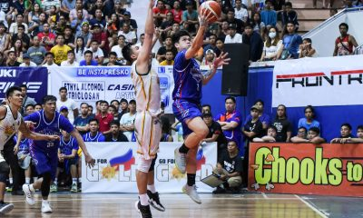 Tiebreaker Times Manila-Frontrow escapes Teng-led Pasig-Sta. Lucia, inches closer to MPBL North semis Basketball MPBL News  Tino Pinat Robbie Manalang Pasig-Sta. Lucia Realtors Manila Stars Leo Najorda Josan Nimes Jeric Teng Gabby Espinas Bong Dela Cruz 2019-20 MPBL Lakan Cup
