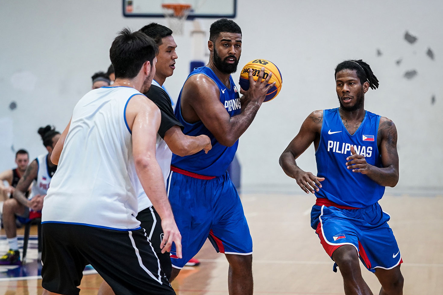 Tiebreaker Times Mo Tautuaa looks to make up for lost time with Stefan Stojacic 3x3 Basketball Basketball Gilas Pilipinas News  Stefan Stojacic Mo Tautuaa Gilas Pilipinas 3x3 2020 FIBA 3X3 Olympic Qualifying Tournament