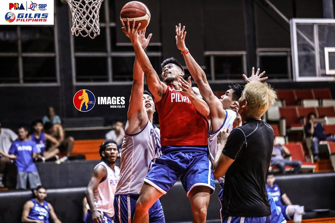 Tiebreaker Times Despite reserve role, Javee Mocon looks at silver lining of Gilas call-up 2021 FIBA Asia Cup Basketball Gilas Pilipinas News  Javee Mocon Gilas Pilipinas Men 2021 FIBA Asia Cup Qualifiers