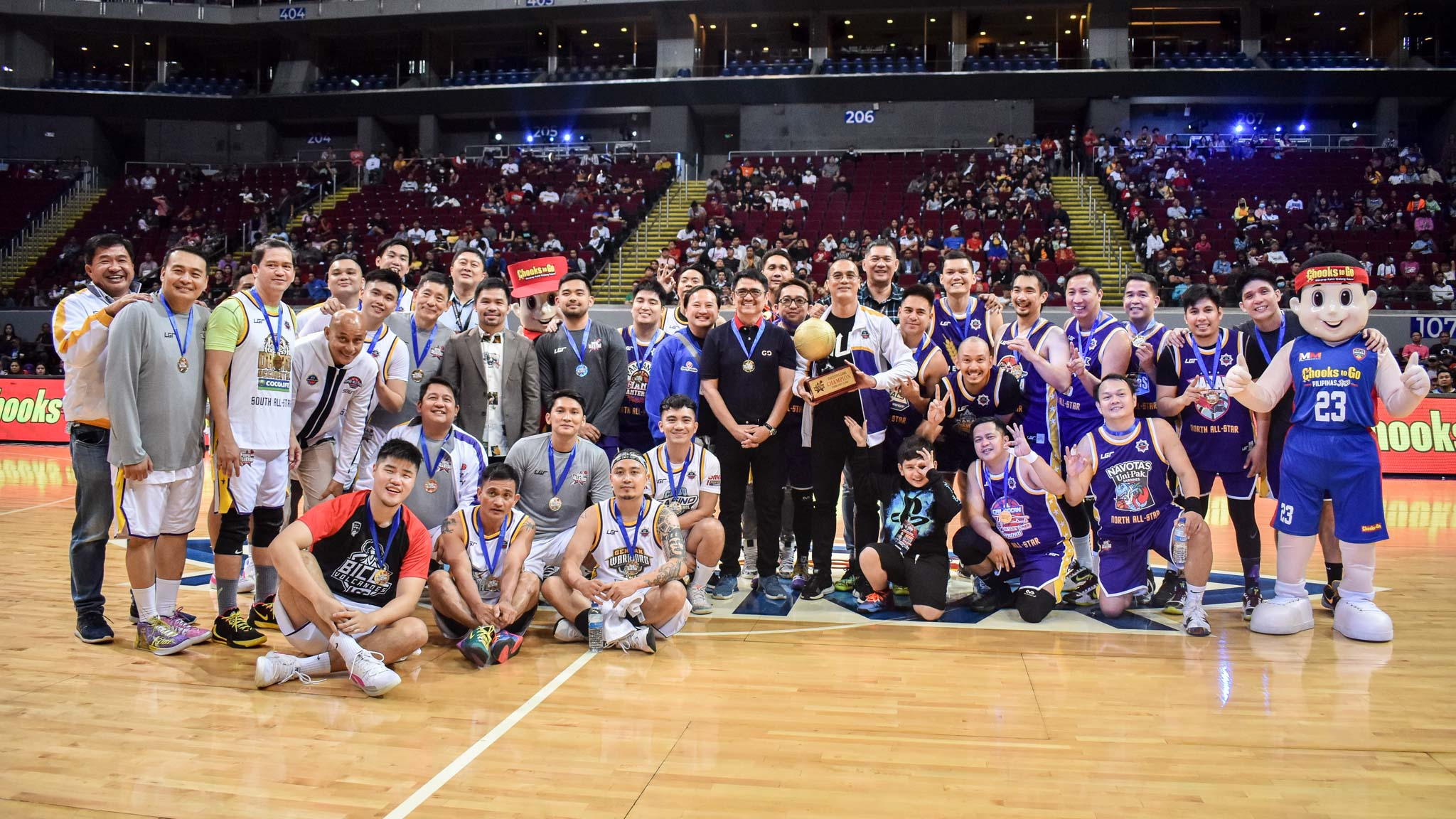 Tiebreaker Times Already a Kobe Bryant tribute, MPBL All-Star Game weirdly ends with 248 total Basketball MPBL News  Randy Alcantara Lester Alvarez Kobe Bryant Don Dulay 2020 MPBL All-Star Game 2019-20 MPBL Lakan Cup