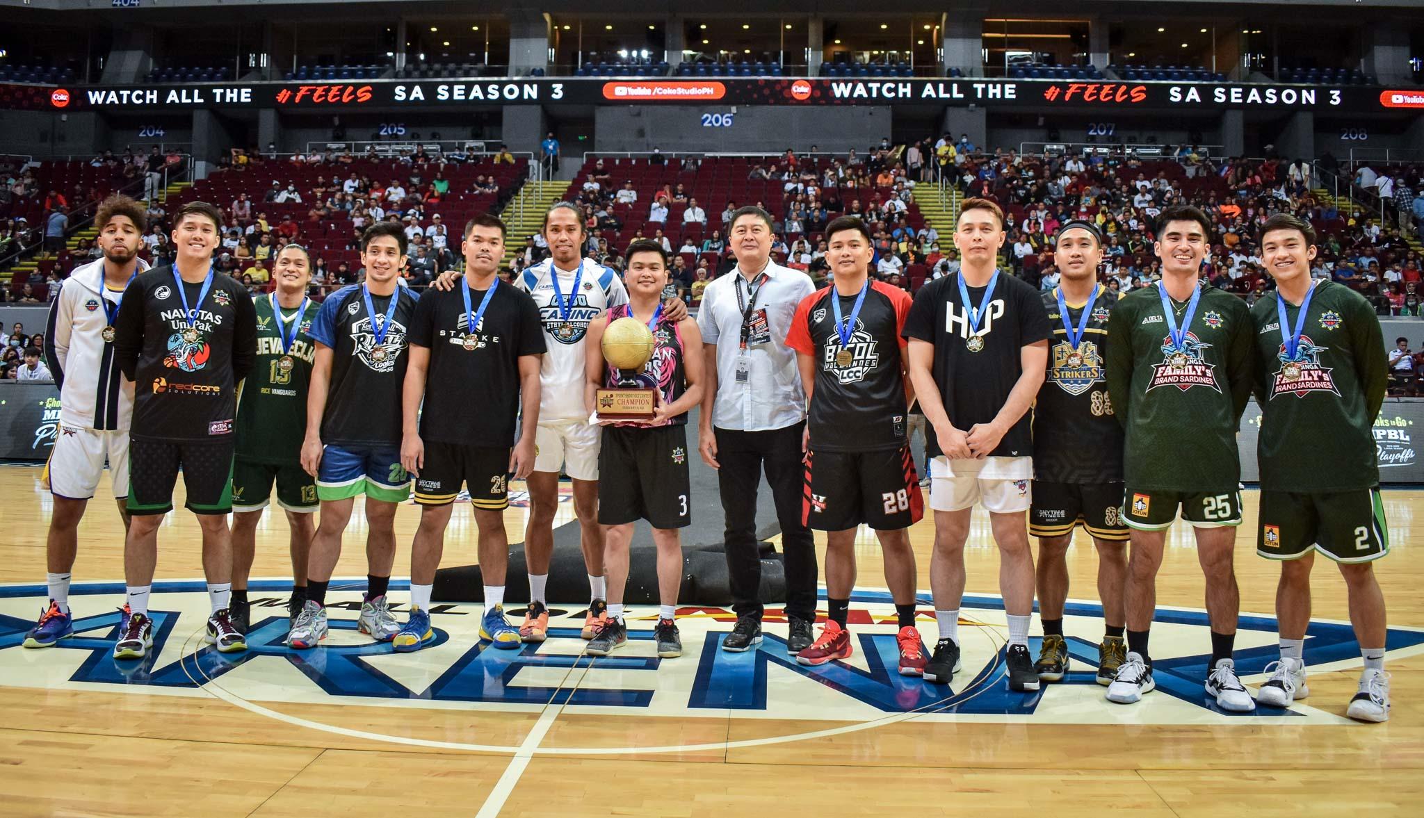 MPBL-2019-2020-AllStarGame-3pt-Shootout-16TH-PHOTO-GROUP-PHOTO Lester Alvarez outsnipes James Martinez, rules MPBL Three-point Shootout Uncategorized  - philippine sports news