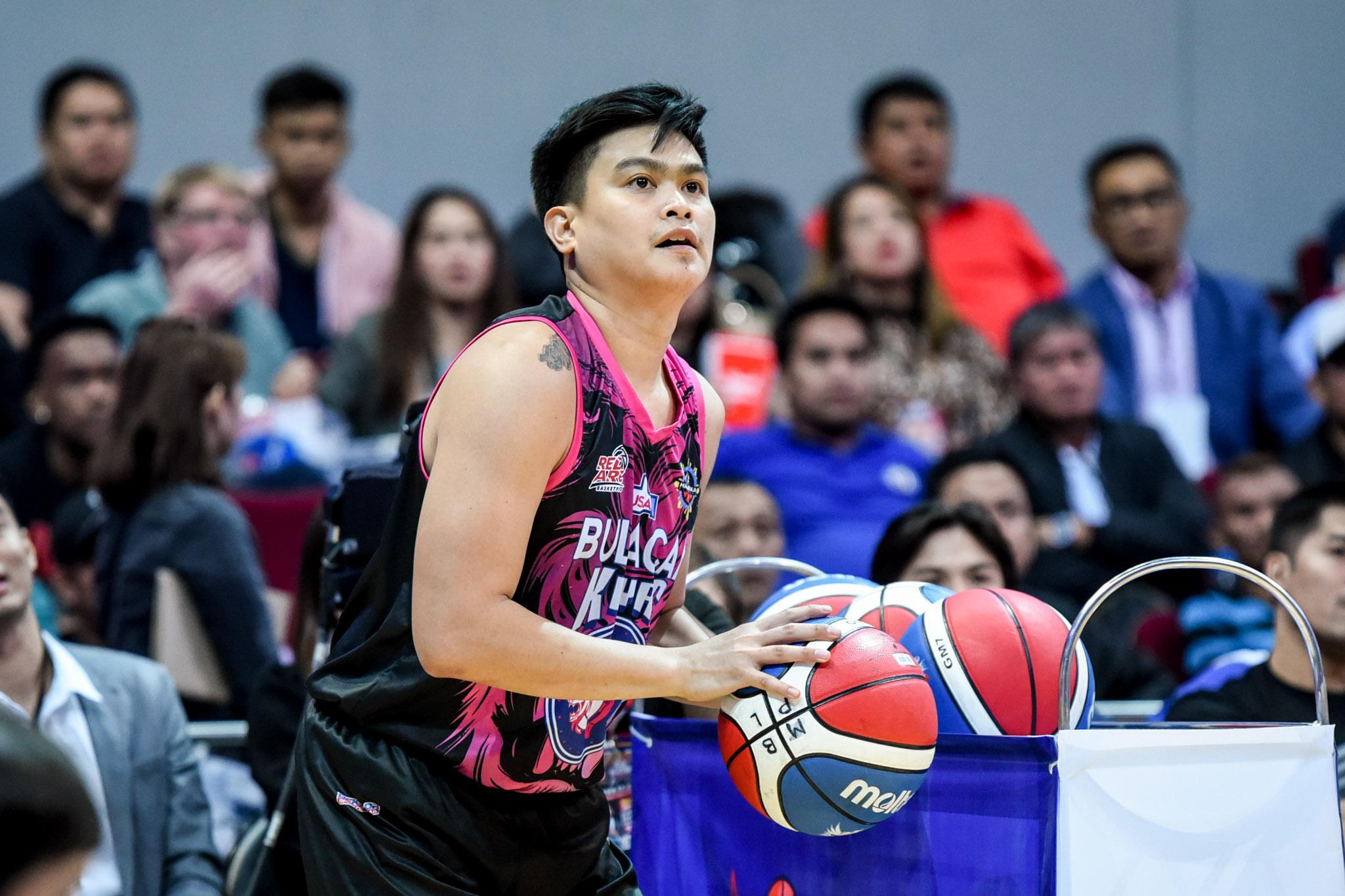MPBL-2019-2020-AllStarGame-3pt-Shootout-3RD-PHOTO-LESTER-ALVAREZ-BULACAN-KUYAS Lester Alvarez outsnipes James Martinez, rules MPBL Three-point Shootout Uncategorized  - philippine sports news