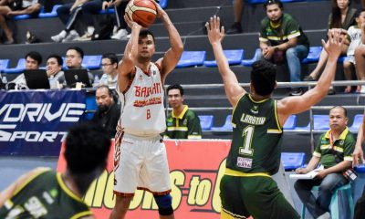 Tiebreaker Times Gab Dagangon catches fire vs Parañaque, as Basilan locks MPBL South third seed Uncategorized  Paranaque Patriots Michole Sorela Keith Pido Jessie Collado Jerson Cabiltes Gab Dagangon Basilan Steel 2019-20 MPBL Lakan Cup