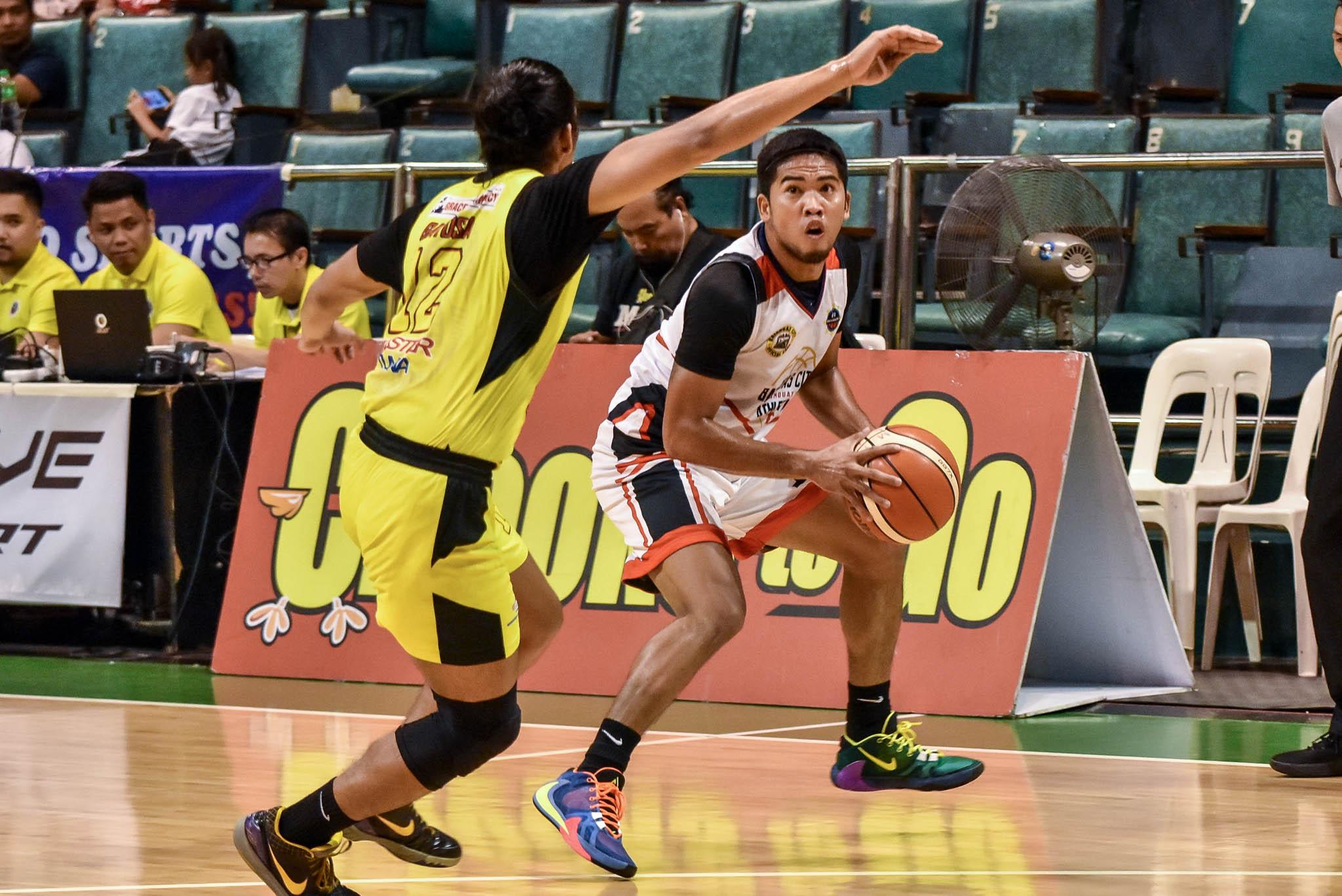 Tiebreaker Times Genmar Bragais on breakout performance for Batangas: 'Pati ako nagulat' Basketball MPBL News  Woody Co Genmar Bragais Batangas City-Tanduay Athletics 2019-20 MPBL Lakan Cup