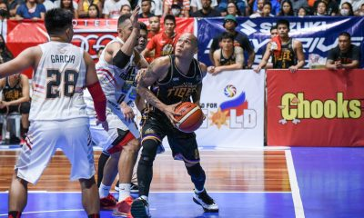 Tiebreaker Times Mark Yee plays through partial ACL tear, still delivers for Davao Occi Basketball MPBL News  Mark Yee Jerwin Gaco Don Dulay Davao Occidental Tigers 2019-20 MPBL Lakan Cup