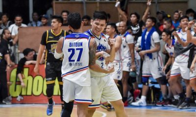 Tiebreaker Times Lastimosa stars as Manila fends off Bacoor, keeps pace with San Juan in MPBL North Basketball MPBL News  Tino Pinat RJ Ramirez Oping Sumalinog Mark Pangilinan Manila Stars Chris Bitoon Carlo Lastimosa Bacoor Strikers Aris Dionisio 2019-20 MPBL Lakan Cup
