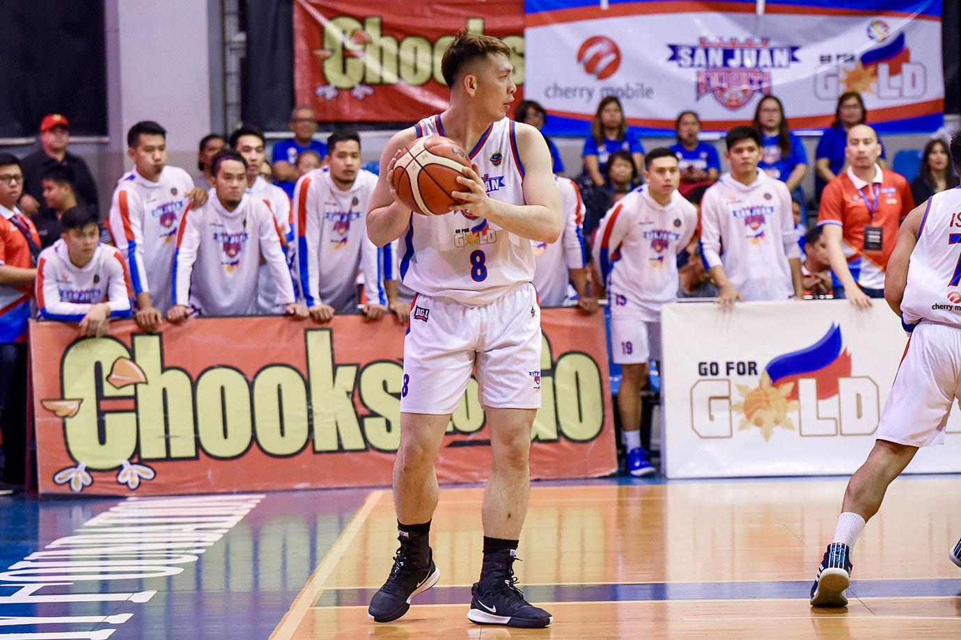 Tiebreaker Times With Rodriguez ejected, John Wilson does more than just score Basketball MPBL News  Randy Alcantara John Wilson Go for Gold-San Juan Knights 2019-20 MPBL Lakan Cup