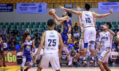 Tiebreaker Times Bacoor subdues Iloilo, ends elims at second in MPBL South Basketball MPBL News  Richard Escoto Michael Mabulac Iloilo United Royals Gab Banal Chris Gavina Bacoor Strikers Alfrancis Tamsi Aaron Jeruta 2019-20 MPBL Lakan Cup