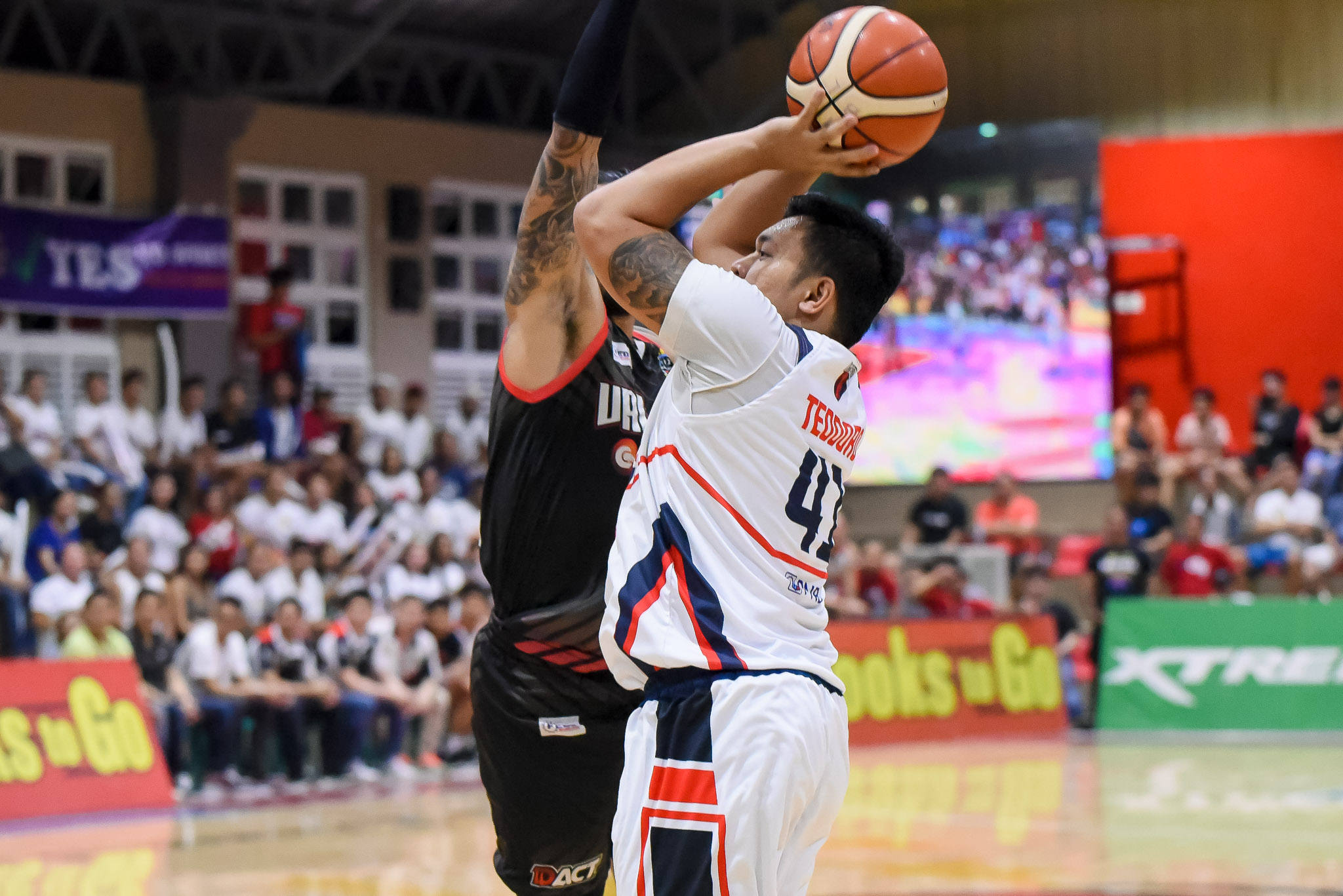Tiebreaker Times Teytey Teodoro makes MPBL return as shorthanded Batangas spoils Valenzuela's season finale Basketball MPBL News  Woody Co Valenzuela Classic Teytey Teodoro Ryusei Koga Reneford Ruaya Jhaymo Eguilos Jaymar Gimpayan Batangas City-Tanduay Athletics 2019-20 MPBL Lakan Cup