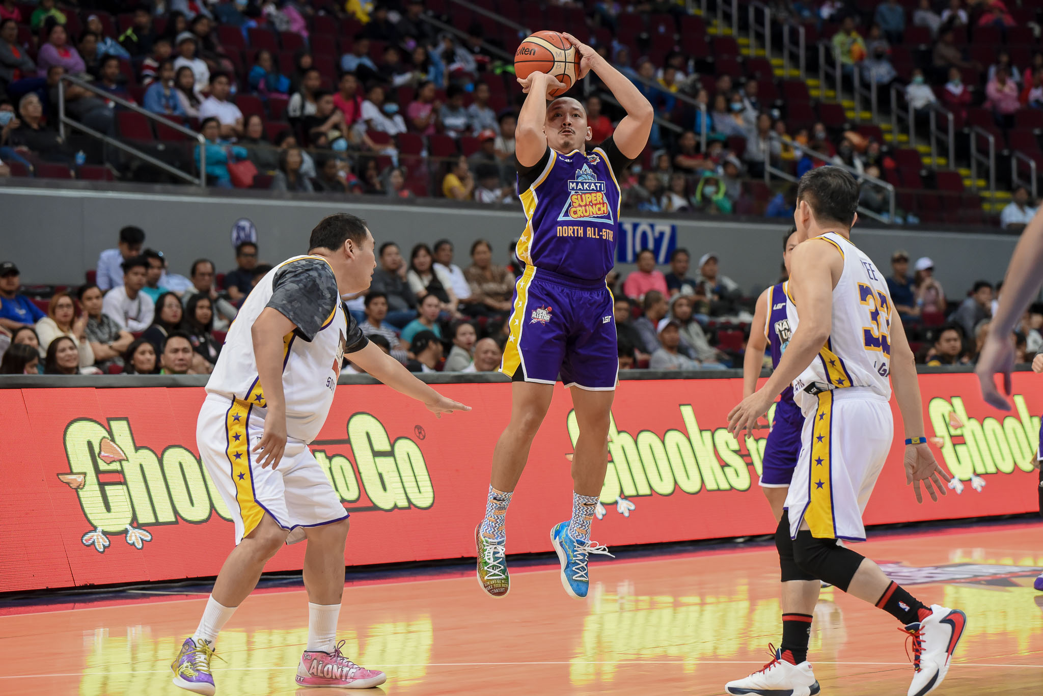Tiebreaker Times Paolo Orbeta leads North past South anew in MPBL Executive Game Basketball MPBL News  Xandrei Cruz Paolo Orbeta Merman Flores Jemal Vizcarra Jay Javelosa Aldrianne Anglim 2020 MPBL All-Star Game 2019-20 MPBL Lakan Cup
