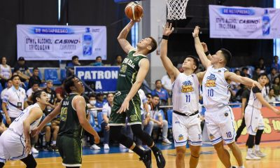 Tiebreaker Times Nueva Ecija scores another upset, adds to Makati's woes in MPBL Basketball MPBL News  Tonino Gonzaga Nueva Ecija Rice Vanguards Maclean Sabellina Joshua Torralba Jeckster Apinan Jai Reyes Gabby Reyes Cedric Ablaza Carlo Tan 2019-20 MPBL Lakan Cup