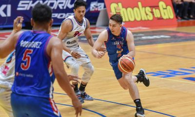 Tiebreaker Times Taking long to find rhythm, John Wilson focused on locking down Belencion first Basketball MPBL News  John Wilson Go for Gold-San Juan Knights 2019-20 MPBL Lakan Cup