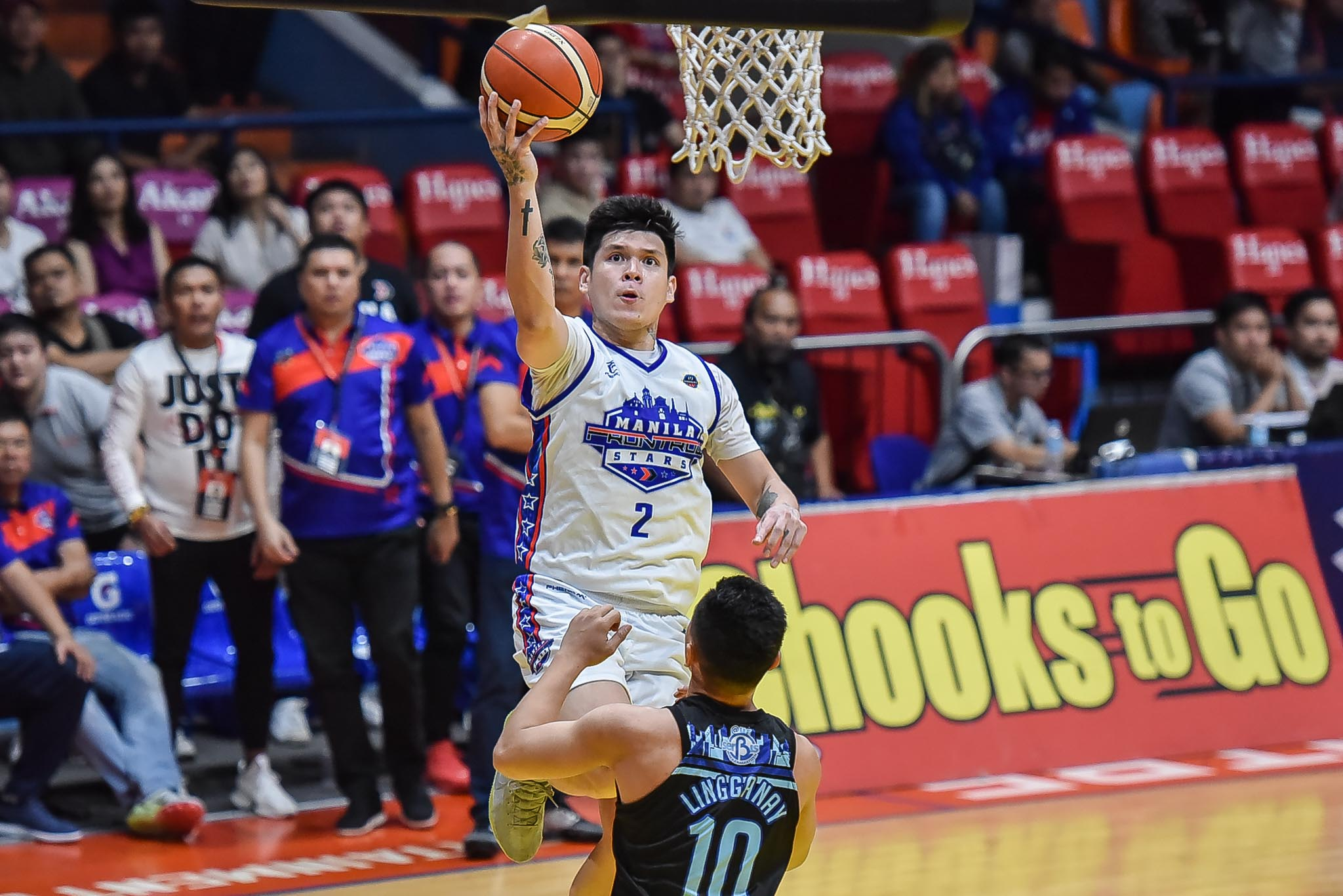 Tiebreaker Times Despite heroics in Game One, Carlo Lastimosa deflects credit to rest of Manila Stars Basketball MPBL News  Manila Stars Carlo Lastimosa 2019-20 MPBL Lakan Cup