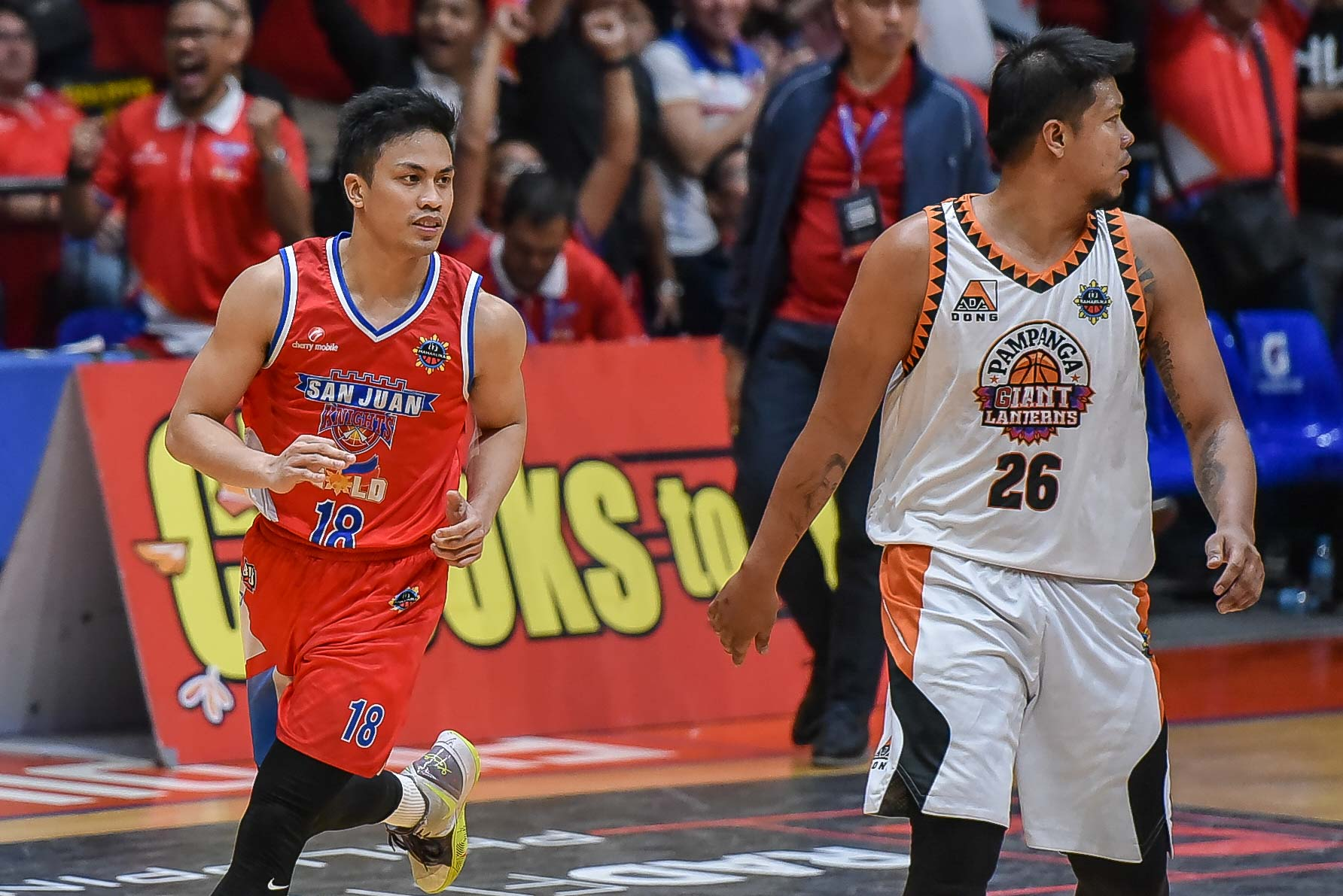 Tiebreaker Times 'Playoffs' Ayonayon has arrived for San Juan Knights Basketball MPBL News  Randy Alcantara Mike Ayonayon Go for Gold-San Juan Knights 2019-20 MPBL Lakan Cup
