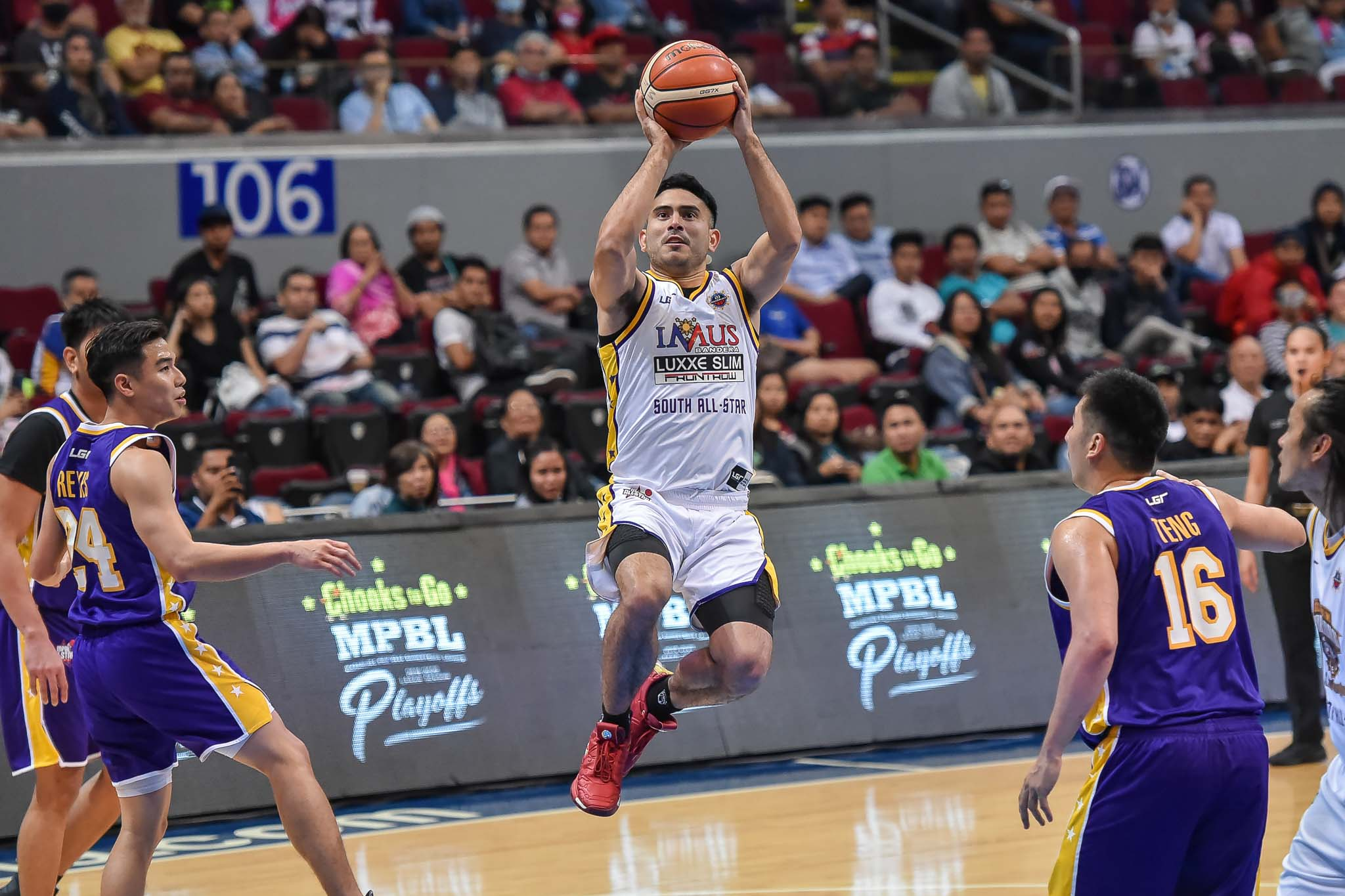 Tiebreaker Times Despite jersey no. mishap, Gerald Anderson hopes advocacy gets across Basketball MPBL News  Imus Bandera Gerald Anderson 2020 MPBL All-Star Game 2019-20 MPBL Lakan Cup
