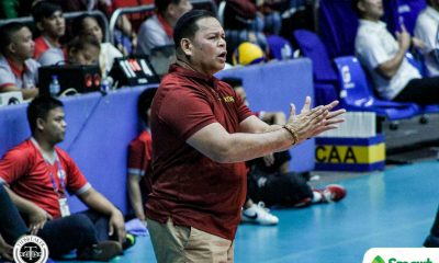 Tiebreaker Times No letup for Perpetual Altas amid long layoff, vows Sammy Acaylar NCAA News UPHSD Volleyball  Sammy Acaylar Perpetual Men's Volleyball NCAA Season 95 Men's Volleyball NCAA Season 95