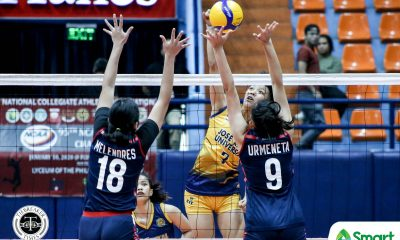 Tiebreaker Times JRU Lady Bombers end NCAA 95 campaign on high note, send Letran to brink CSJL JRU NCAA News Volleyball  Sydney Niegos Riza Rose Renesa Melgar NCAA Season 95 Women's Volleyball NCAA Season 95 Michael Inoferio Mia Tioseco Letran Women's Volleyball Karyla Jasareno JRU Women's Volleyball Dolly Versoza Daisy Melendres Charm Simborio Chamberlaine Cunada