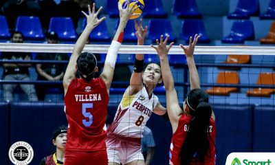 Tiebreaker Times Perpetual Lady Altas stave off EAC to gain crucial footing in NCAA 95 semis race EAC NCAA News UPHSD Volleyball  Rod Palmero Perpetual Women's Volleyball NCAA Season 95 Women's Volleyball NCAA Season 95 Macky Cariño Krizzia Reyes Kristine Cancio Jhona Rosal Jenny Gaviola EAC Women's Volleyball Dana Persa Cathrine Almazan Bianca Tripoli Beatrice Dayao