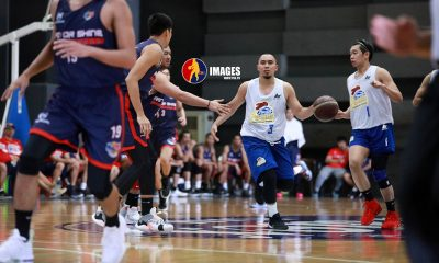 Tiebreaker Times Lee, Barroca halt Rain or Shine run as Magnolia triumphs in tune-up Basketball News PBA  Rain or Shine Elasto Painters PBA Season 45 Paul Lee Mark Barroca Magnolia Hotshots Jewel Ponferada Jackson Corpuz Ian Sangalang Clint Doliguez Caloy Garcia
