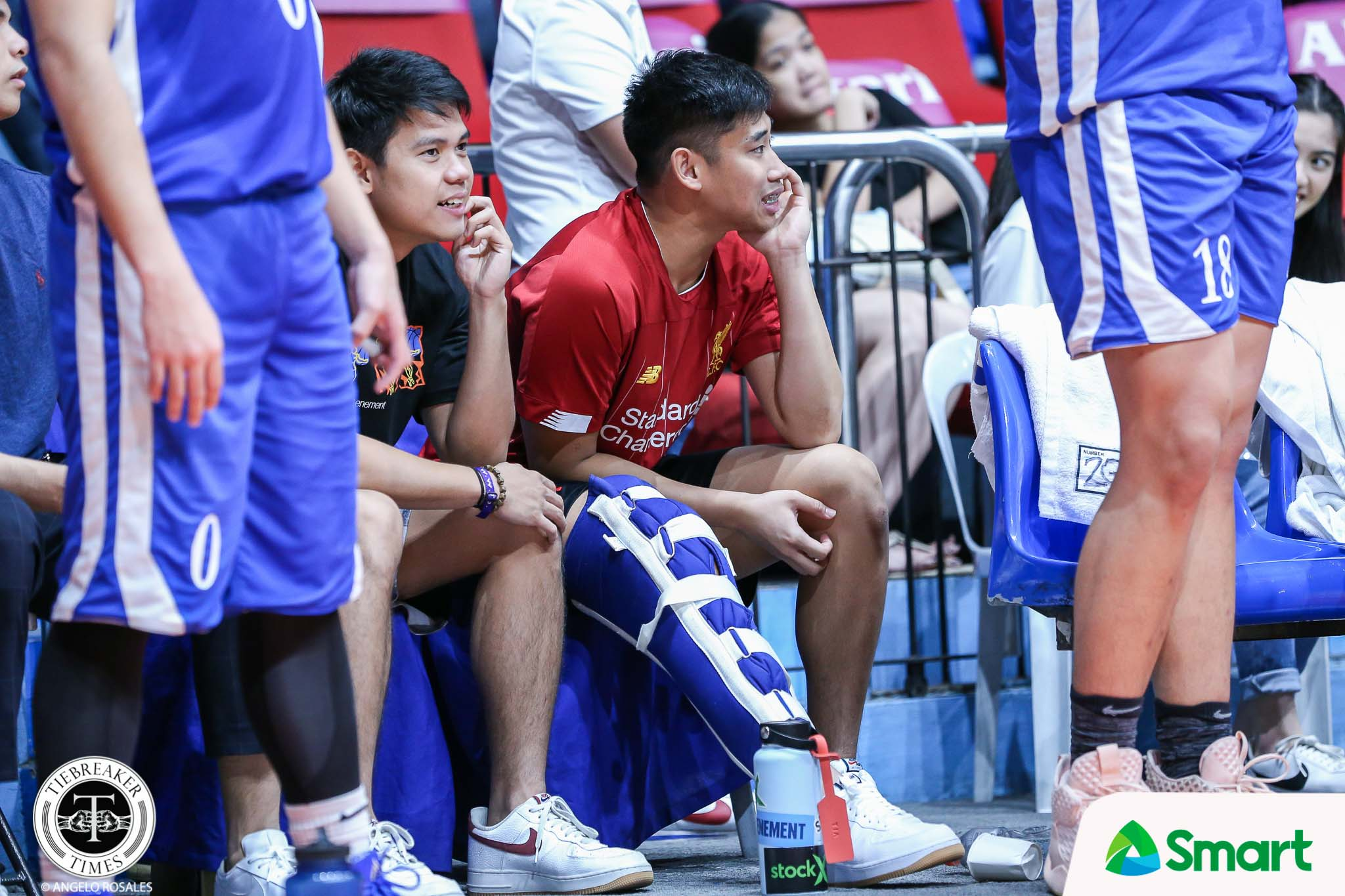 Tiebreaker Times BJ Andrade suffers ACL tear, out for UAAP Season 83 ADMU Basketball News  Tab Baldwin BJ Andrade Ateneo Men's Basketball 2020 PCCL National Championship