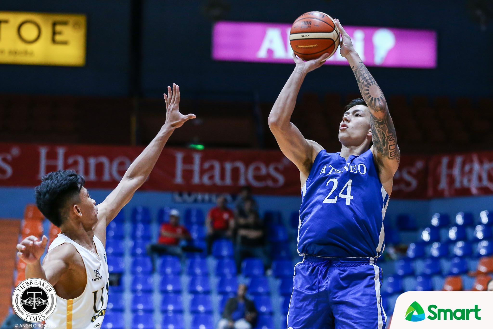 PCCL-2019-ADMU-vs-UST-ADMU-RAMOS Dwight Ramos believes Ateneo will be 'super strong' even without him ADMU Basketball News UAAP  - philippine sports news