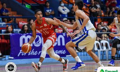 Tiebreaker Times James Canlas looks to fill shoes left by 'brother' Evan Nelle Basketball News SBC  San Beda Seniors Basketball James Canlas Evan Nelle 2020 PCCL National Championship