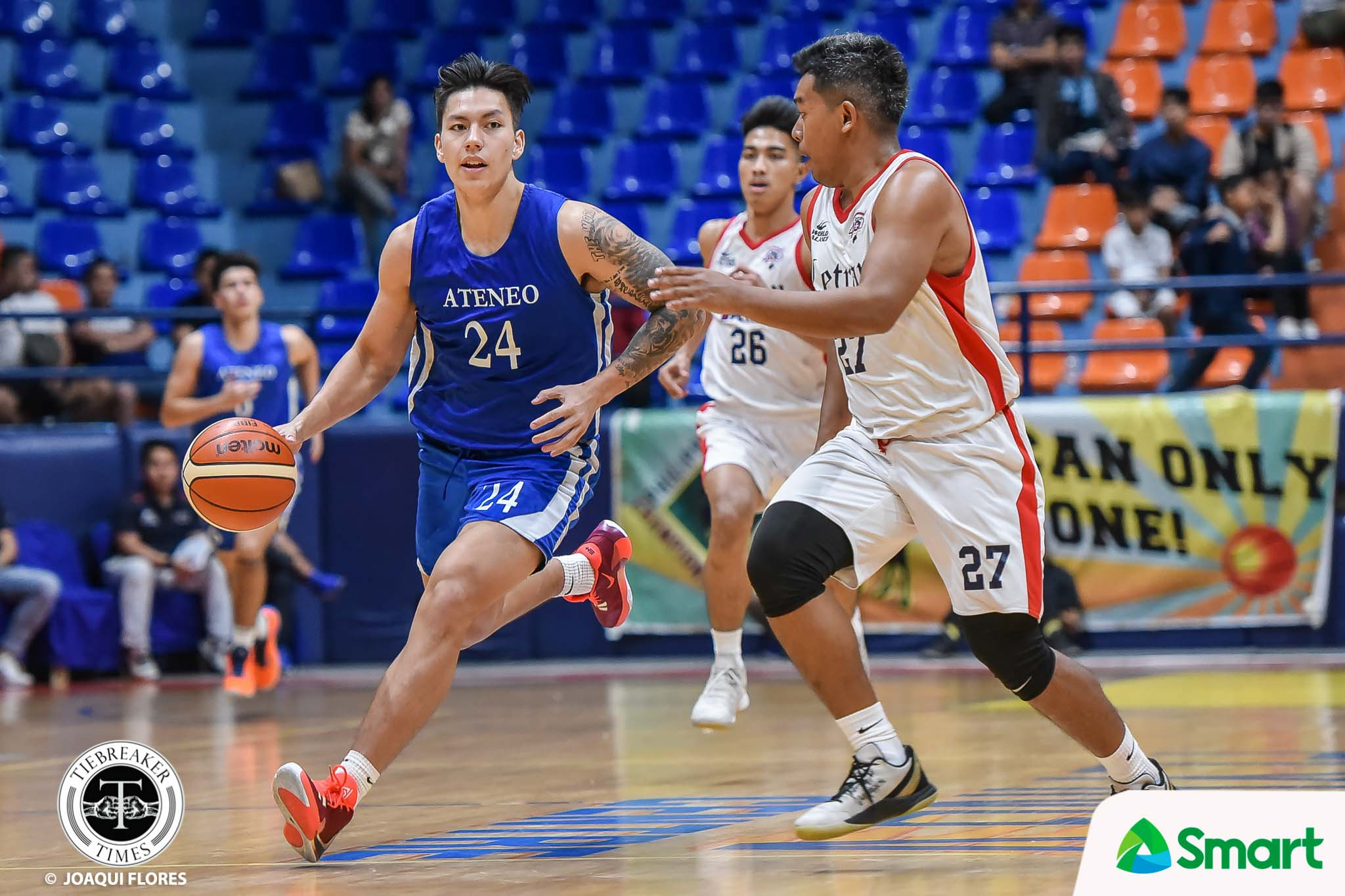 Tiebreaker Times Dwight Ramos getting used to juggling Gilas, Ateneo duties 2021 FIBA Asia Cup Basketball Gilas Pilipinas News  Gilas Pilipinas Men Dwight Ramos Ateneo Men's Basketball 2021 FIBA Asia Cup Qualifiers 2020 PCCL National Championship