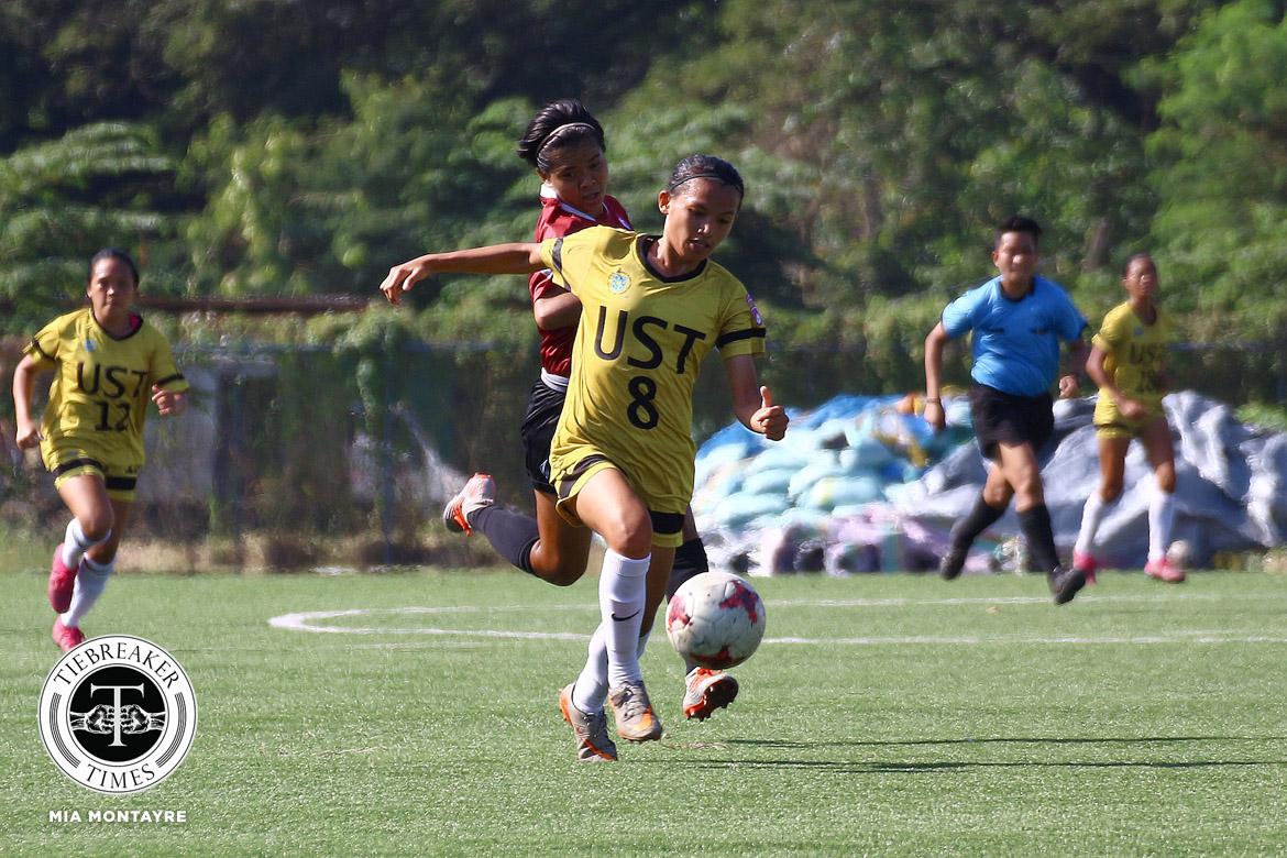 PFFWL-2019-Wk-19-M2-UST-d-UP-Indac Back-to-back wins bump UST Lady Booters to second in PFFWL Football News PFF Women's League UP UST  - philippine sports news