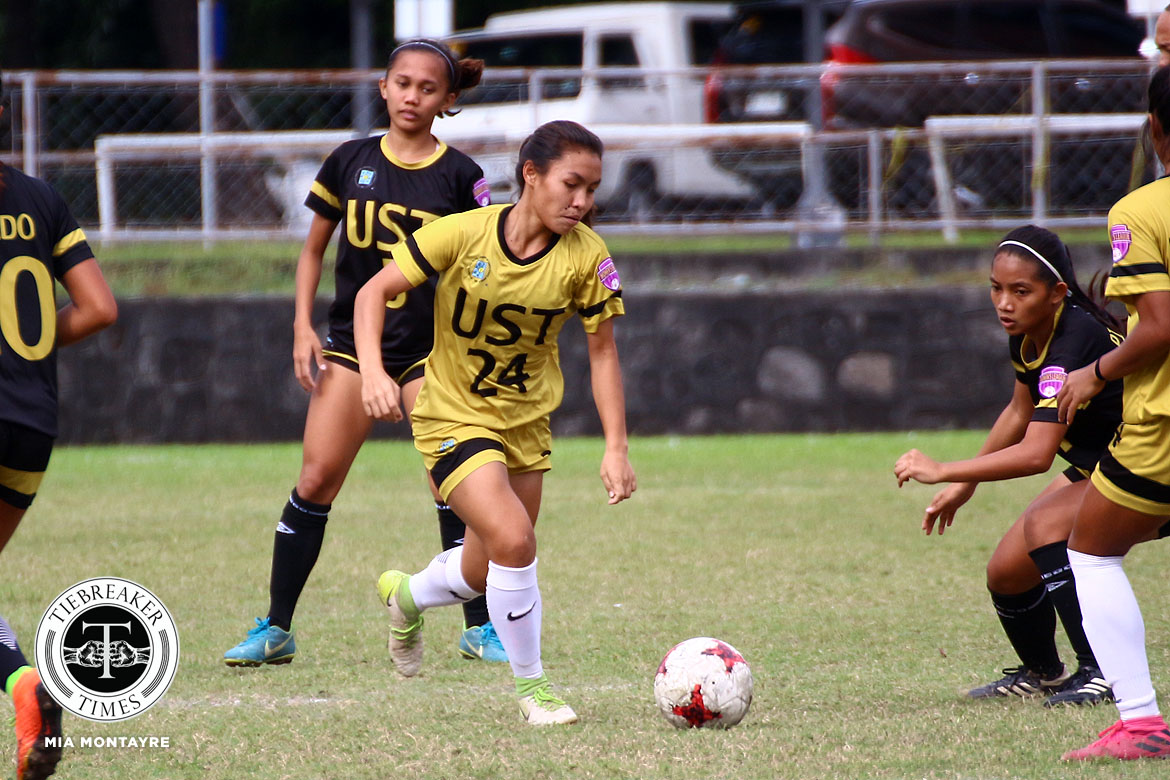 PFFWL-2019-Wk-19-M3-UST-d-Tigers-FC-Cadag Back-to-back wins bump UST Lady Booters to second in PFFWL Football News PFF Women's League UP UST  - philippine sports news