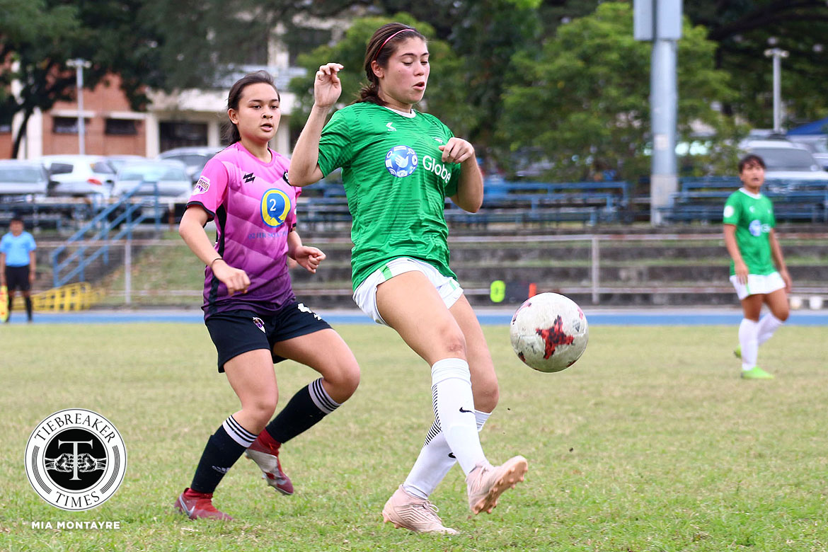 Tiebreaker Times La Salle held to stunning draw by UP, gives UST hope in PFFWL DLSU FEU Football News PFF Women's League UP UST  UST Women's Football UP Women's Football Tuloy FC Tigers FC Stallion-Hiraya FC Samantha Asilo Nomads FC Nicole Andaya Mikhaela Jumawan Maroons FC Let Dimzon Lanie Ortillo Lalaine Durano Kristine Joy Abo-abo Katrina Tancungco Joyce Onrubia Jenny Perez Jayson Turco Isabella Bandoja Green Archers United FEU Women's Football Elvin Marcellana DLSU Women's Football Cecille Dayrit Aging Rubio 2019 PFFWL Season