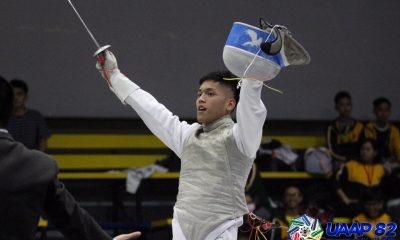Tiebreaker Times Ateneo's Jaime Viceo stuns UE's Tranquilan, takes down UAAP 82 Men's Foil event ADMU AdU Fencing News UAAP UE UST  UST Men's Fencing UE Men's Fencing UAAP Season 82 Men's Fencing Samuel Mangarin Sammuel Tranquilan Jose Lorenzo Mercado Jaime Viceo DLSU Men's Fencing Ateneo Men's Fencing