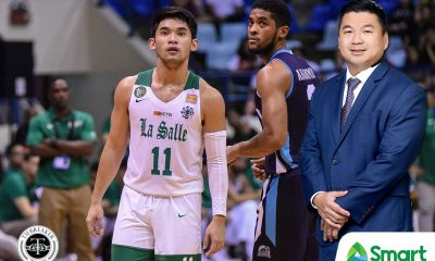 Tiebreaker Times Dennis Uy vehemently denies backing DLSU Green Archers Basketball DLSU News UAAP  UAAP Season 83 Men's Basketball UAAP Season 83 Terry Capistrano Raffy Villavicencio DLSU Men's Basketball Dennis Uy