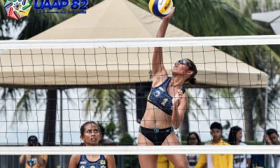 Tiebreaker Times NU-NS's Epa-Rodriguez outlast UST to go to 3-0 in UAAP Girls' Beach Volley ADMU AdU Beach Volleyball DLSU FEU News NU UAAP UE UST  Vanessa Bangayan UST Girls Volleyball UE Girls Volleyball UAAP Season 82 Girls Beach Volleyball UAAP Season 82 NU Girls Volleyball Nikka Medina Mary Grace Borromeo Kathrina Epa Jullana Carreon Gerzel Petallo FEU Girls Volleyball DLSZ Girls Volleyball Dea Villamor Chantal Rodriguez Celina Vergeire Ayesha Juegos Ateneo Girls Volleyball Ann Susbilla Alexandra Juangco Aira Jaboneta Adamson Girls Volleyball