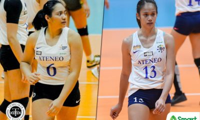 Tiebreaker Times Jaja Maraguinot on playing alongside sister Jho: 'Everything I do is for her' ADMU News UAAP Volleyball  UAAP Season 82 Women's Volleyball UAAP Season 82 Jho Maraguinot Jaja Maraguinot Ateneo Women's Volleyball