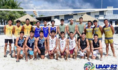 Tiebreaker Times UST, Ateneo High early leaders in UAAP 82 Boys Beach Volleyball ADMU AdU Beach Volleyball DLSU FEU News NU UAAP UE UP UST  UST Boys Volleyball UPIS Boys Volleyball UE Boys Volleyball UAAP Season 82 Boys Beach Volleyball UAAP Season 82 Reymart Reyes NU Boys Volleyball Mikka Mendoza Miguel Castro Jvon Berdin John Lithuania JM Apolinario Jelord Talisayan Jefferson Marafol Jay Rack Dela Noche Jann Mark Pijo Giulian San Juan Francis Babon FEU Boys Volleyball Evander Novillo DLSZ Boys Volleyball Carl Cabatac Brett Borja Ateneo Boys Volleyball Andre Espejo Alexander Iraya Adamson Boys Volleyball