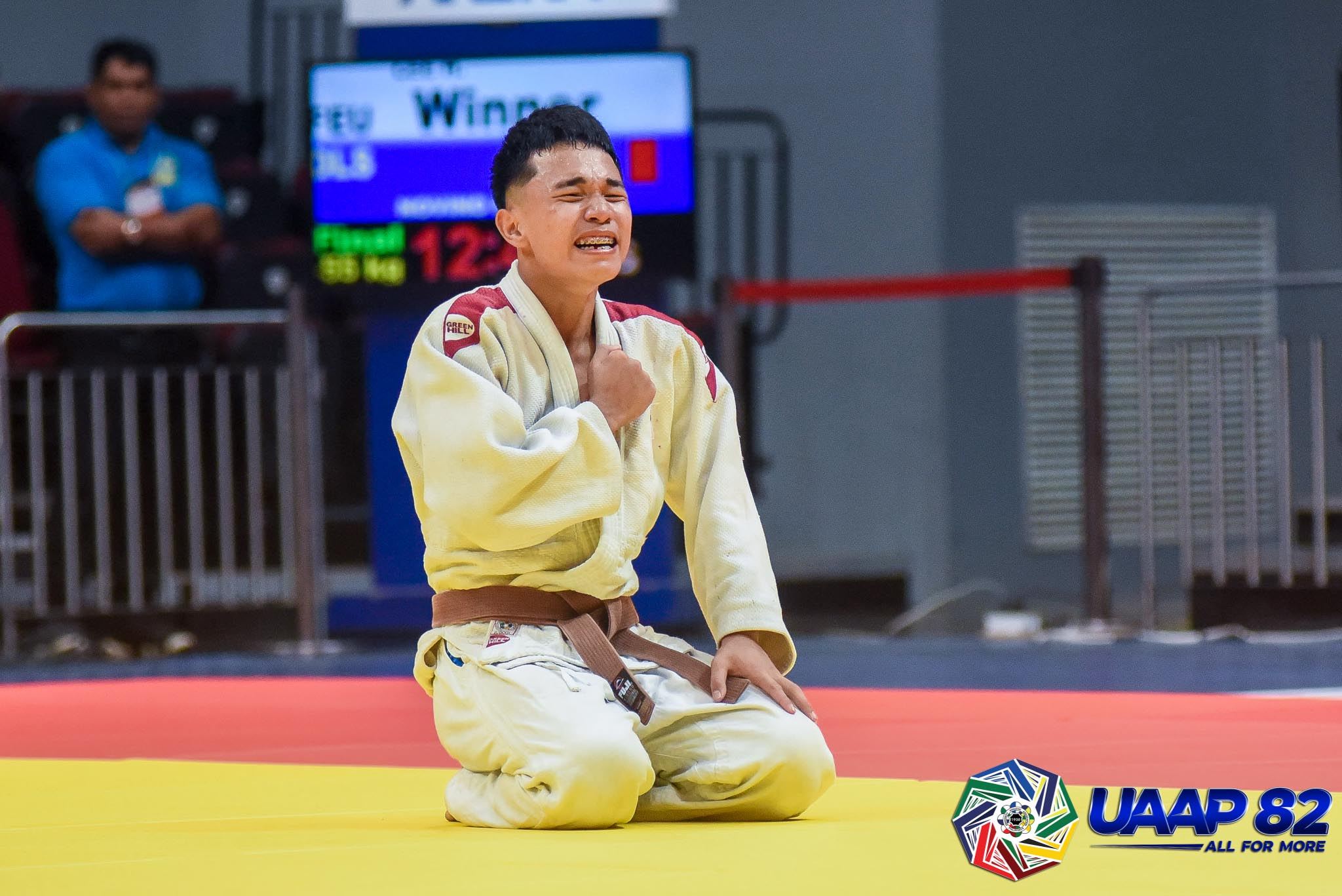 UAAP82-JUDO-JRS-60KG-BOYS-4TH-PHOTO-WHITE-LEE-FEU Donaire, Saria lead DLSZ to surprising start in UAAP 82 HS Judo as Quimba sisters give UST early lead ADMU DLSU FEU Judo News UAAP UE UST  - philippine sports news