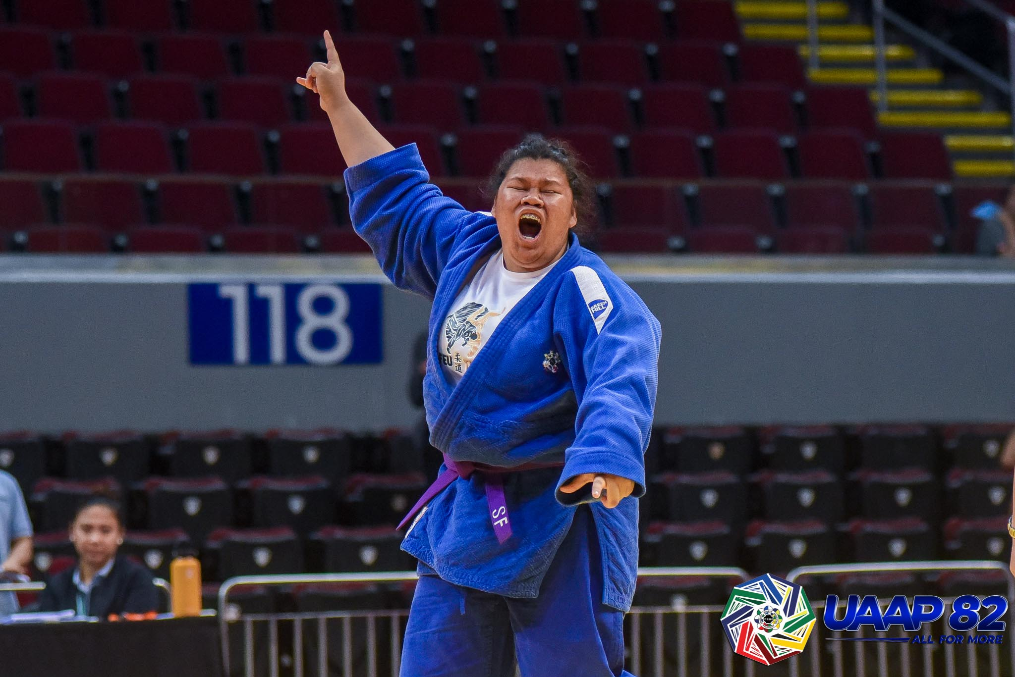 UAAP82-JUDO-JRS-78KG-GIRLS-3RD-PHOTO-BLUE-FETALVER-FEU Donaire, Saria lead DLSZ to surprising start in UAAP 82 HS Judo as Quimba sisters give UST early lead ADMU DLSU FEU Judo News UAAP UE UST  - philippine sports news