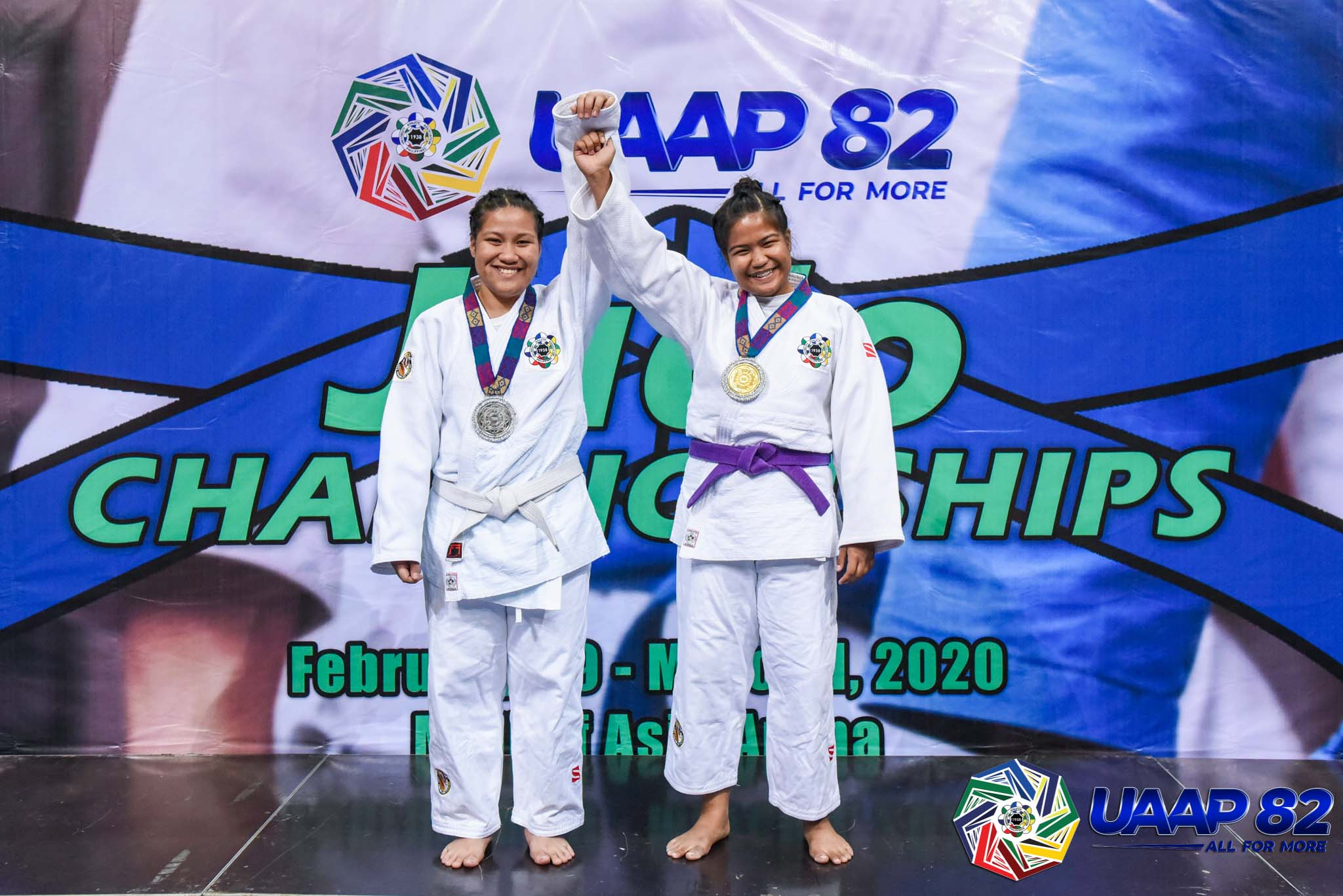 UAAP82-JUDO-JRS-GIRLS-7TH-PHOTO-78KG-1-QUIMBA-LEA-UST-2-QUIMBA-LORENZ-UST Donaire, Saria lead DLSZ to surprising start in UAAP 82 HS Judo as Quimba sisters give UST early lead ADMU DLSU FEU Judo News UAAP UE UST  - philippine sports news