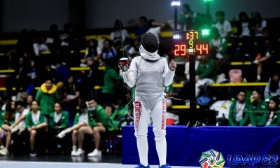 Tiebreaker Times Sam Catantan, UE Jr. Lady Warriors virtually seal UAAP 82 Girls' Fencing tiara ADMU DLSU Fencing FEU News UAAP UE UST  UST Girls' Fencing UST Boys' Fencing UE Girls' Fencing UE Boys' Fencing UAAP Season 82 High School Fencing UAAP Season 82 Samantha Catantan FEU Girls' Fencing FEU Boys' Fencing DLSZ Girls' Fencing Ateneo Boys' Fencing