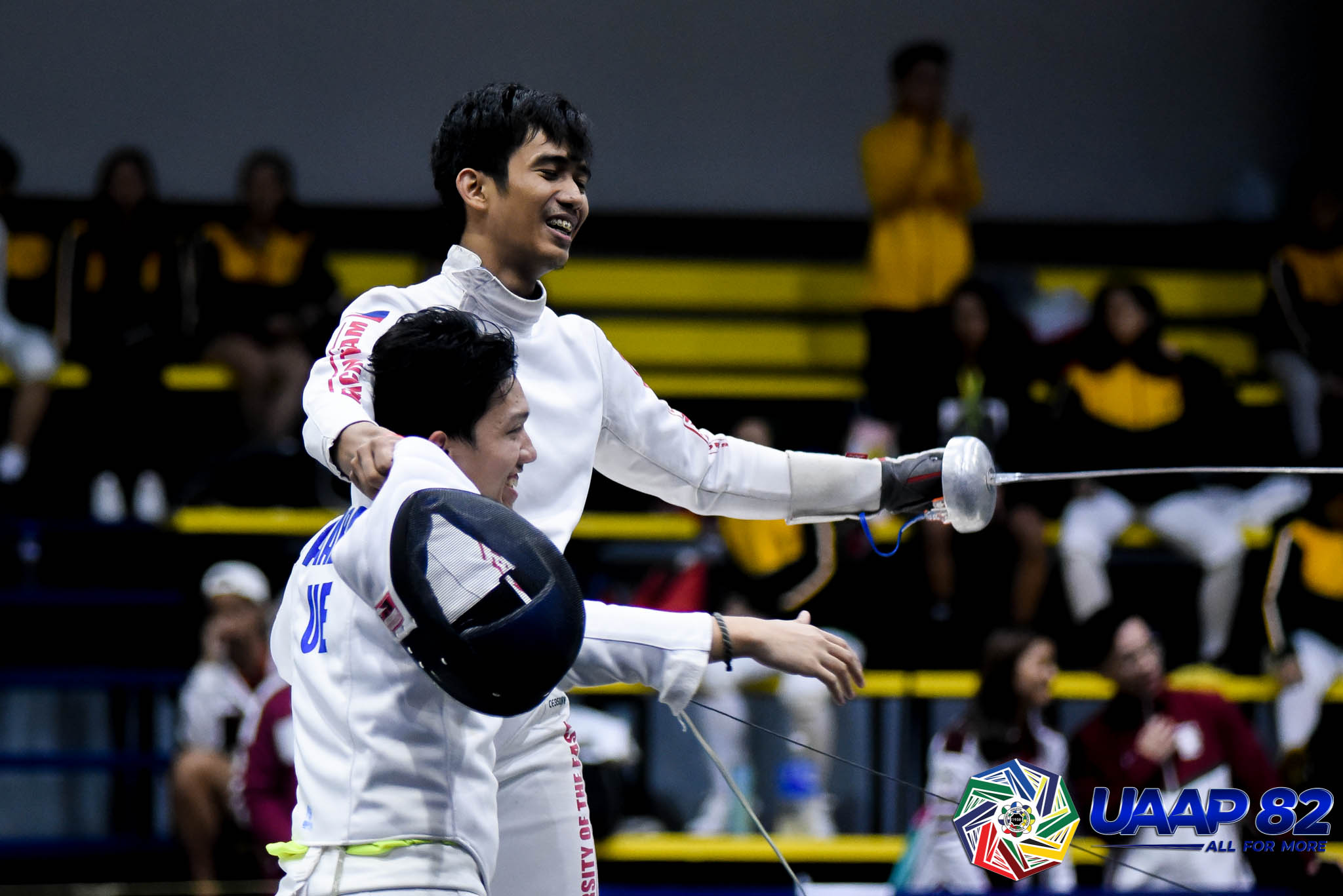 Tiebreaker Times Sam Tranquilan hailed as UE athlete of the year Fencing News UAAP UE  UE Men's Fencing UAAP Season 82 Men's Fencing UAAP Season 82 Sammuel Tranquilan