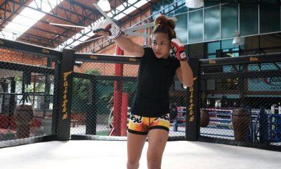 Tiebreaker Times Denice Zamboanga plans to challenge Angela Lee if she defeats Yamaguchi Mixed Martial Arts News ONE Championship  ONE: King of the Jungle Fairtex Denice Zamboanga